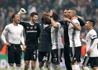 Besiktas qualify for Champions League last 16
