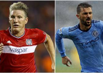 David Villa and Schweinsteiger among top 5 best selling MLS shirts for 2017