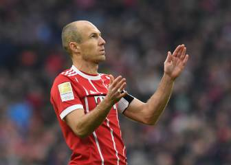 Bayern star Robben drops retirement hint