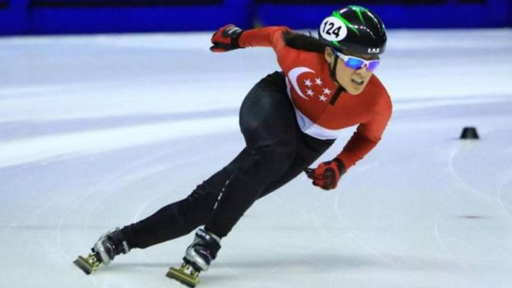 Skater Cheyenne Goh becomes first Singapore athlete to qualify for Winter Olympics