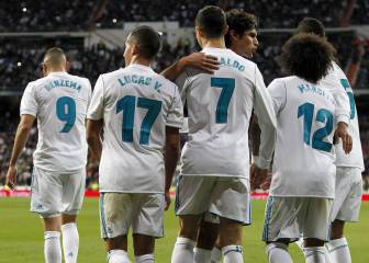 Real Madrid 3-2 Málaga in pictures