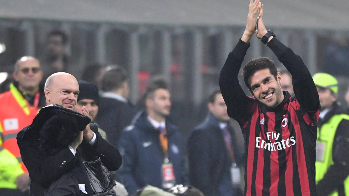Kaka reported to be holding talks with Chinese side Guizhou
