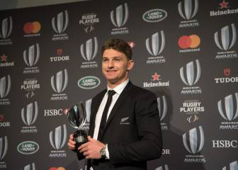 Portia Woodman and Beauden Barrett crowned World Rugby Players of the Year