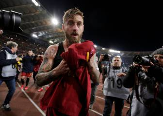 Roma skipper De Rossi gets two-match ban