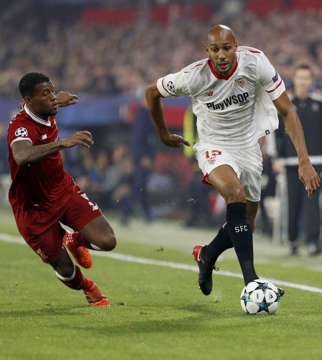 The French midfielder left the stadium at half time after being substituted following a disastrous 45 minutes in the Champions League draw with Liverpool.