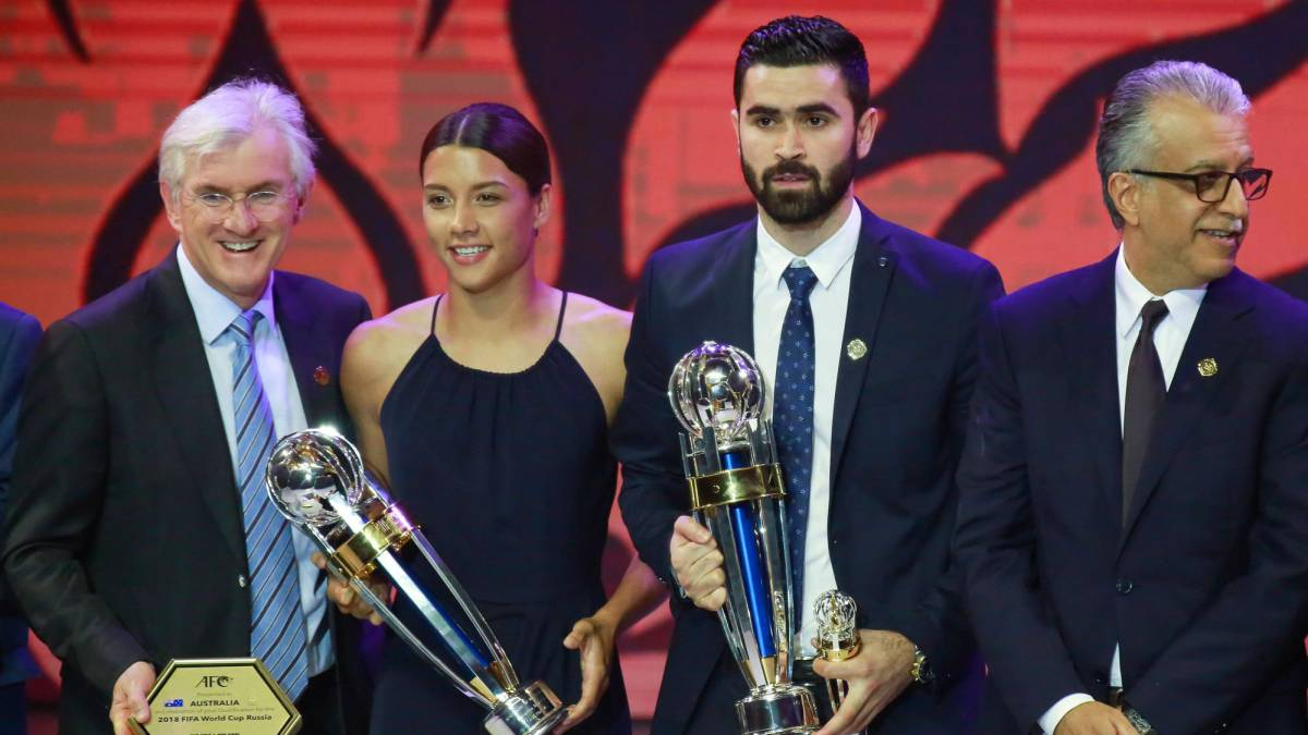 Syria's Omar Kharbin wins AFC Player of the Year award