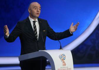 Fifa chief Infantino: doping not a problem in football