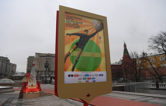 Moscow prepares for the 2018 FIFA World Cup Draw.