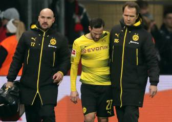 Dortmund lose Philipp and Castro to serious injury