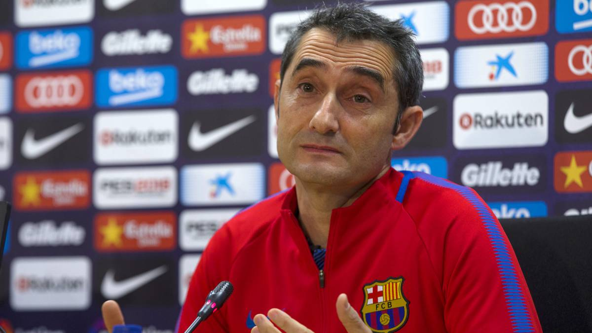 "Valverde: ""Masche is our player and we are counting on him"""