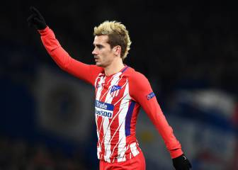 Griezmann hamstring injury not as serious as first feared
