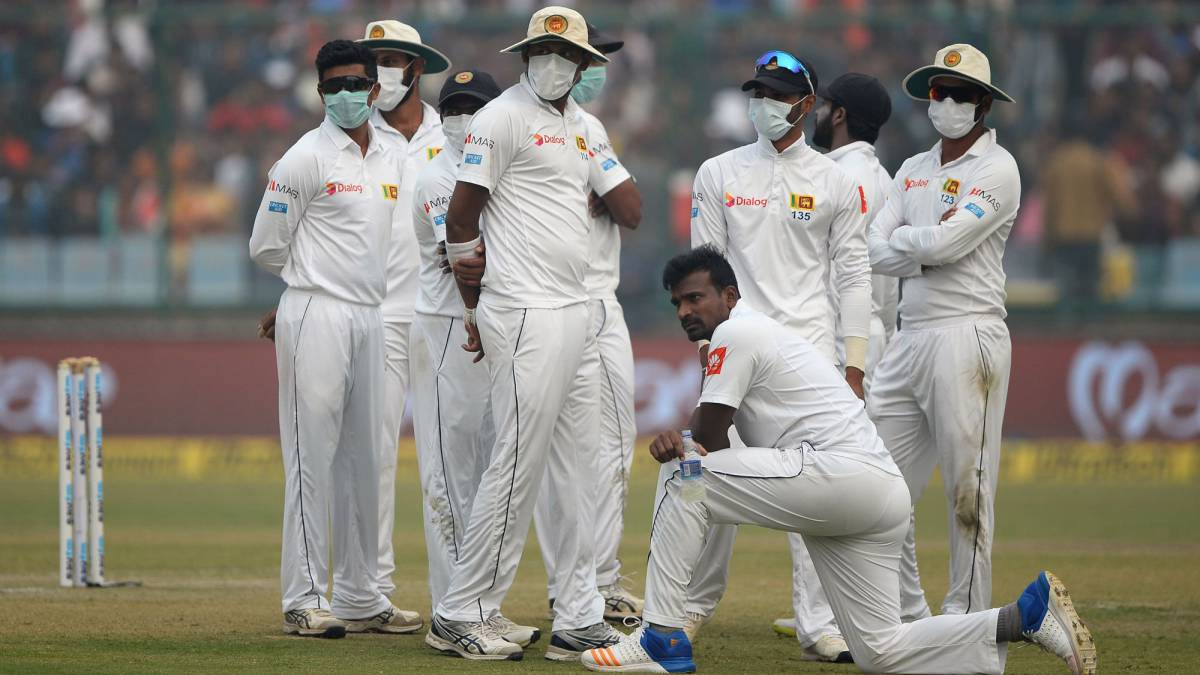Delhi's viability as an international cricket venue called into question due to smog