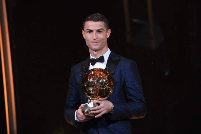 Cristiano Ronaldo won his fifth Ballon d'Or on Thursday evening, meaning he has won the award the same number of times as Barça's Lionel Messi.