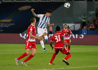 Pachuca grind past ten-man Wydad to set up Gremio clash