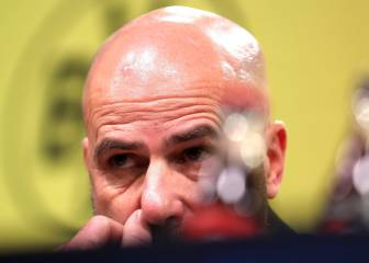Dortmund set to announce sacking of Peter Bosz