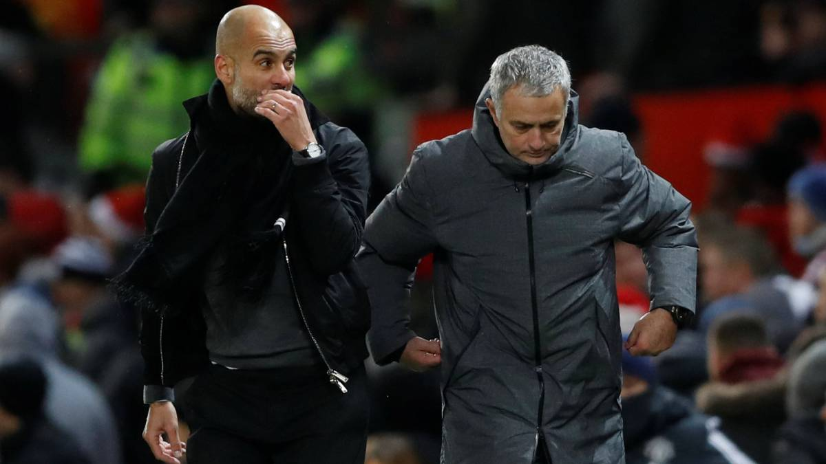 Guardiola tells Mourinho to stop blaming ref for poor results