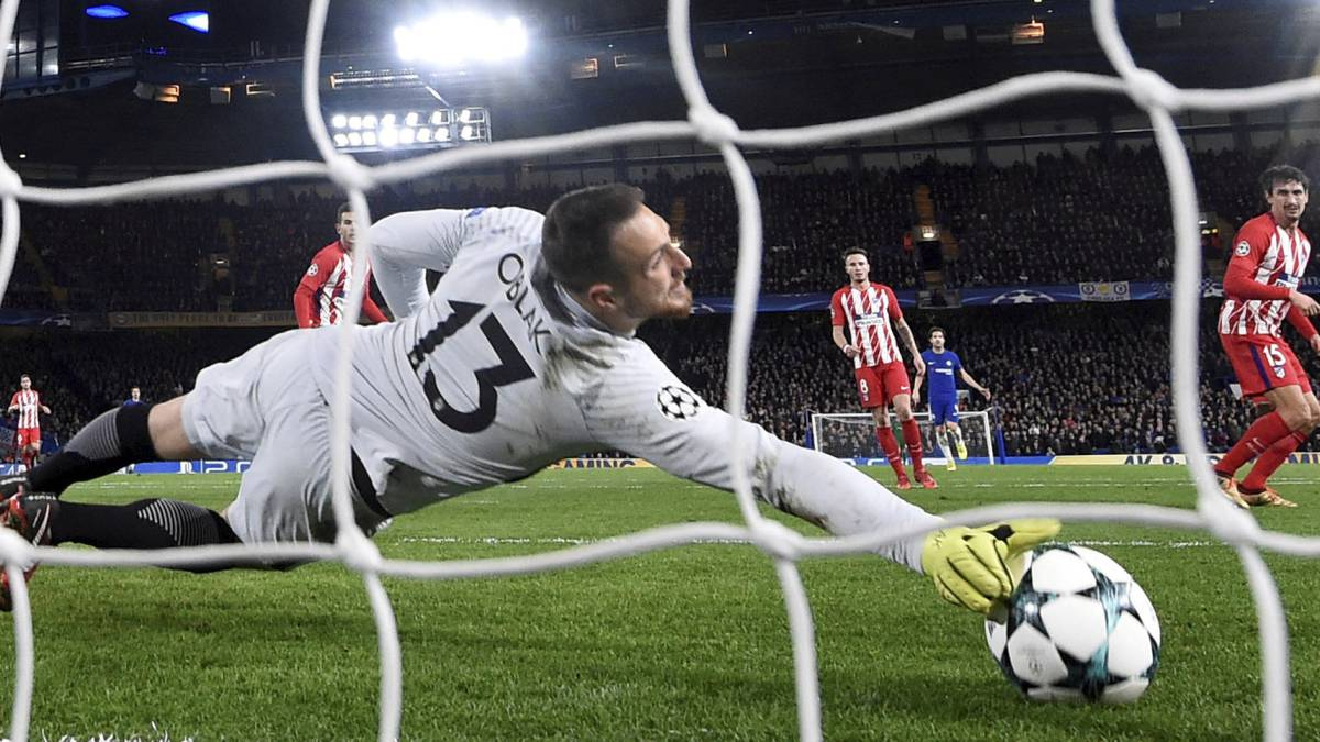 PSG to make second push for Atlético's Jan Oblak in January