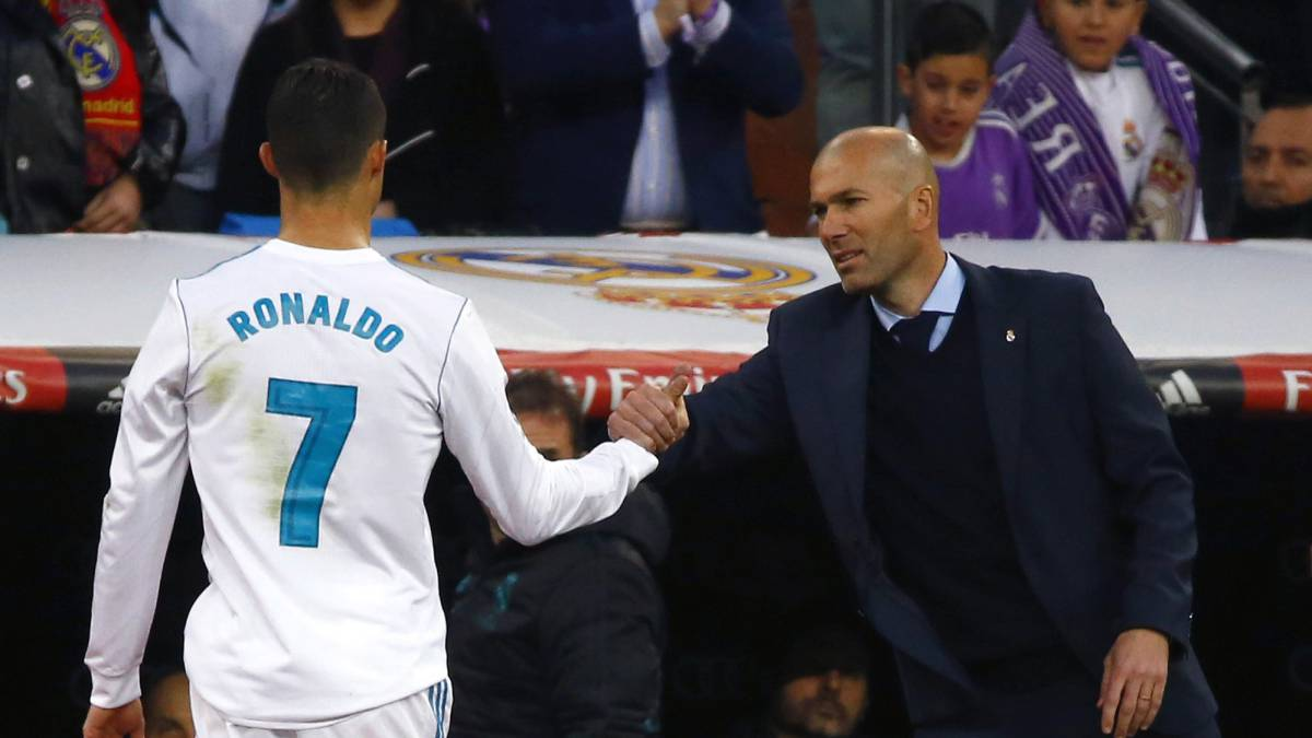 Zidane delighted to call on 'world's best' Ronaldo