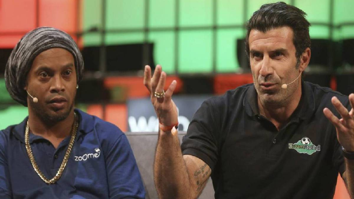 Ronaldinho vs Figo: UEFA and UN to stage 'Match for Solidarity'