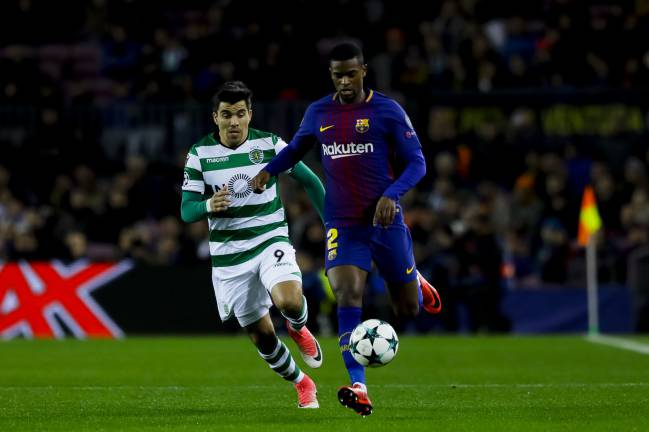 The 24-year-old right-back spoke to Maisfutebol about how the Barcelona dressing room helped him get over a controversial start to his Camp Nou career.