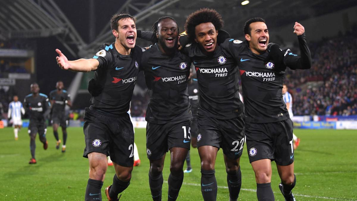 Chelsea cruise to comfortable 3-1 win at Huddersfield