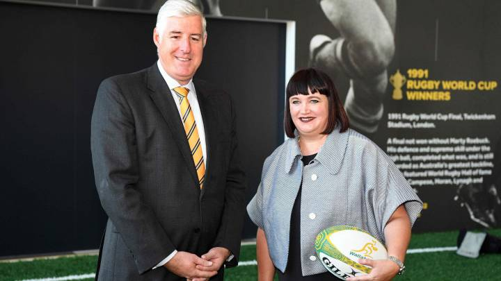 Raelene Castle makes history as CEO of Rubgy Australia
