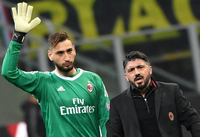 Massimiliano Mirabelli, the sporting director, ostensibly accused Gianluigi Donnarumma's agent of 'inventing things on purpose' after Hellas cup match.