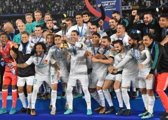 Real Madrid's celebrations after winning the Club World Cup