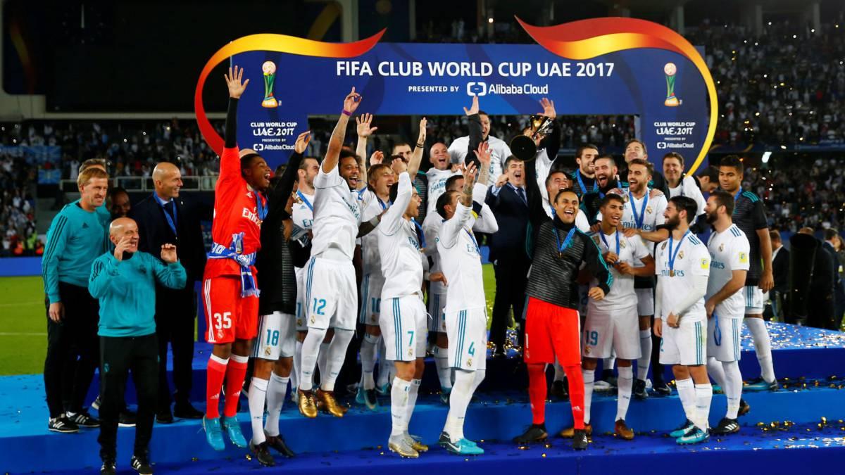 Znalezione obrazy dla zapytania real madrid club world cup 2017