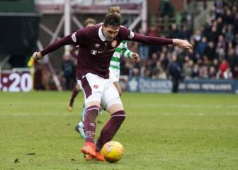 Celtic's 69-game unbeaten domestic run ended by Hearts