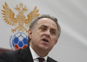Mutko temporarily steps down as Russian FA head amid doping ban