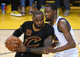 NBA admits refs missed Kevin Durant's late fouls on LeBron