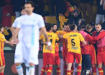 Benevento finally win after worst-ever Serie A start