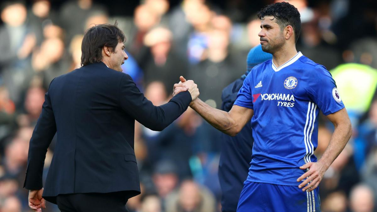 We fought together, we won together – Conte remembers Diego Costa positively