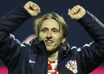 Modric equals Suker with Croatian Footballer of the Year award