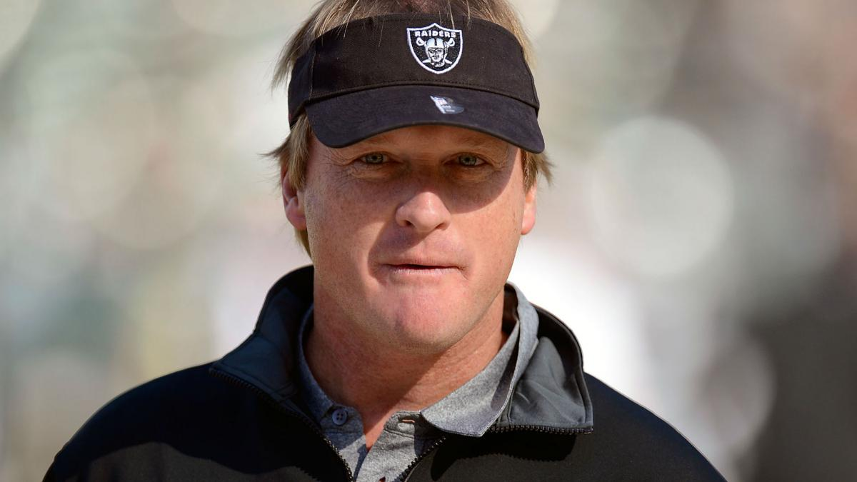 There's a chance I'd take it - Gruden open to taking Raiders job