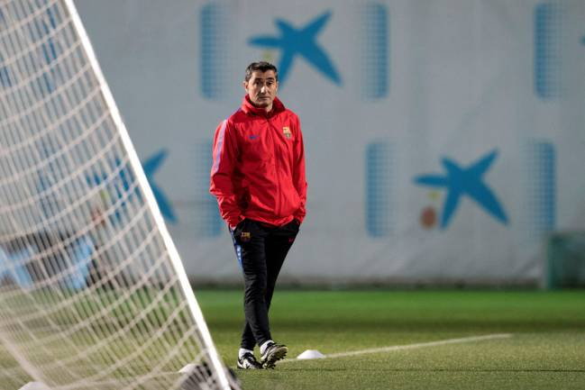 Ernesto Valverde has left some big names at home.