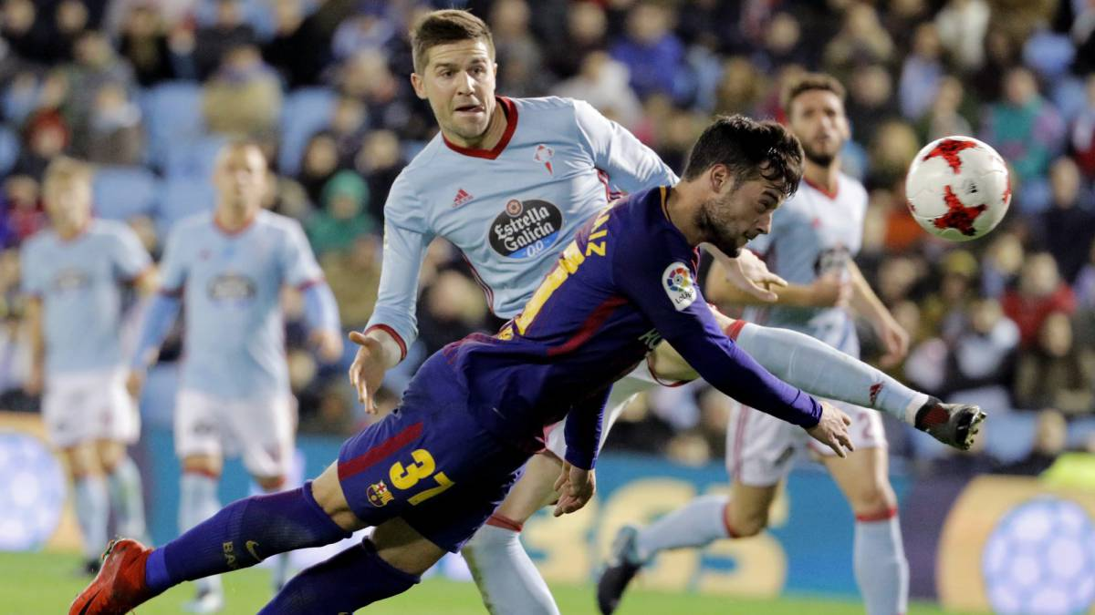 Celta 1-1 Barcelona: Copa del Rey, last 16 match report, goals, action