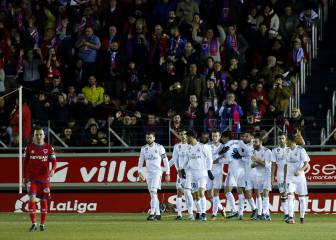 Isco and Mayoral apply gloss to Madrid win at Numancia