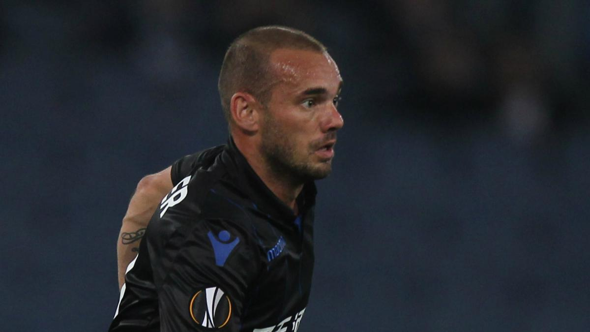 Sneijder to leave Nice for Qatar