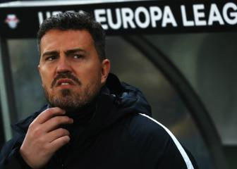 Oscar Garcia takes charge at Olympiacos