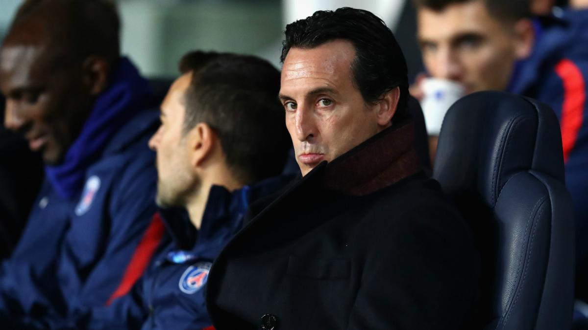 Emery does not fear sack if PSG lose Real Madrid tie