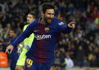 Messi dazzles in Barça victory over resolute Levante