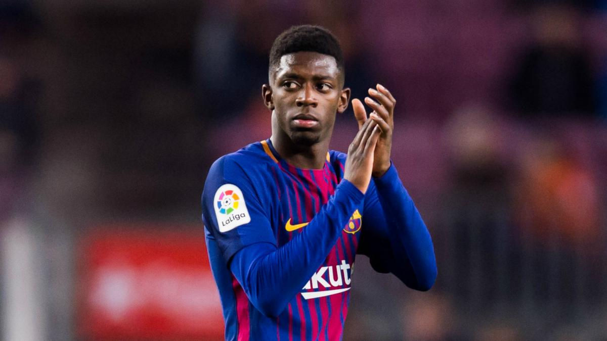 Dembele posts perfect pass completion on return to Barcelona line-up