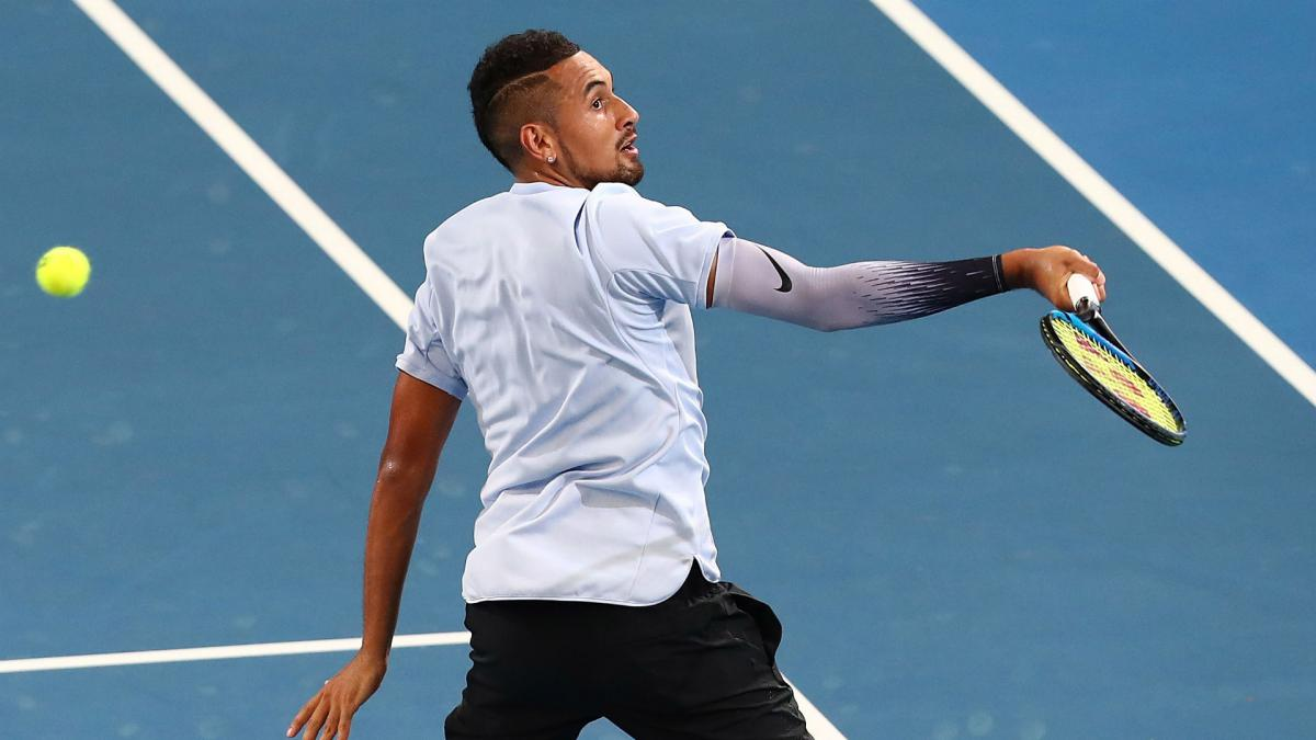 Kyrgios powers to Brisbane title