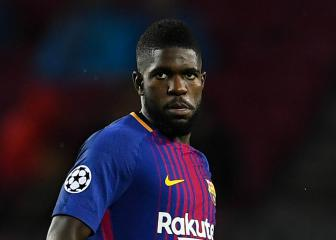 Umtiti returns to Barcelona training as Coutinho meets new team-mates