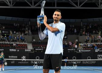 Djokovic tips Kyrgios to test Federer and Nadal