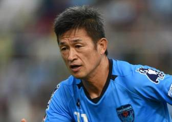 50-year-old Japan football legend 'Kazu' renews Yokohama FC contract