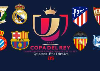 Benevolent Copa draw for Madrid and Barcelona
