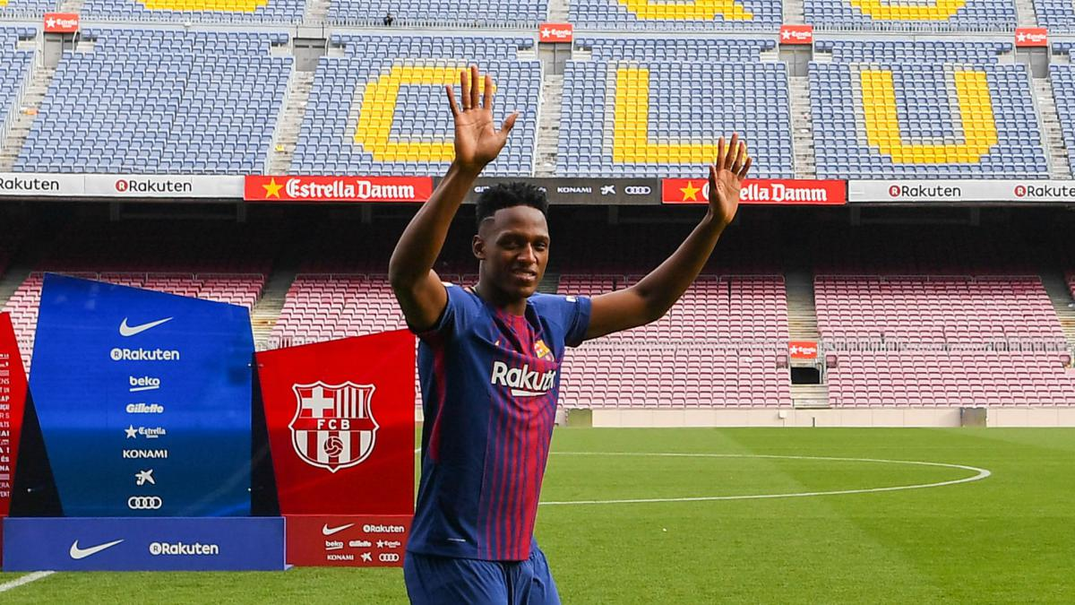 Meeting Messi gave new Barcelona signing Mina goosebumps